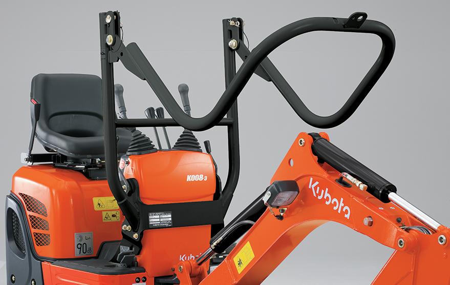 Minibagger K008-3 - KUBOTA