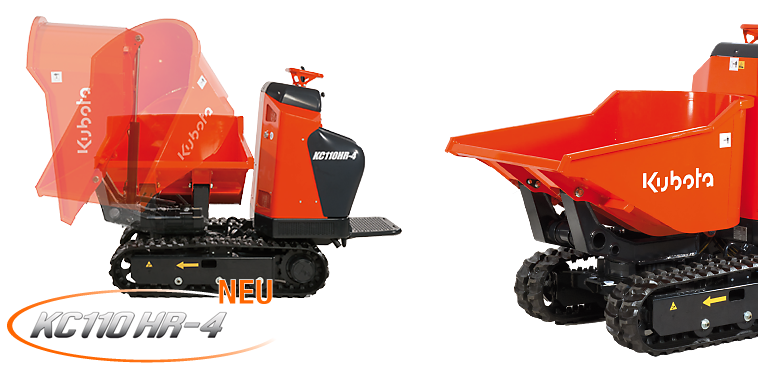 Crawlers Dumpers KC110HR-4 - KUBOTA