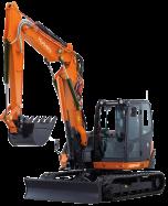 Midi excavator KX080-4α 2PGL - KUBOTA
