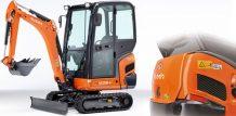 Mini excavator KX016-4 - KUBOTA