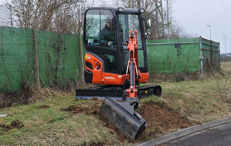 Mini excavator KX019-4 - KUBOTA