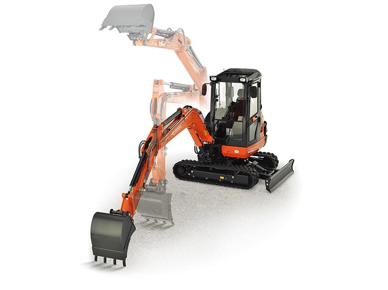 Mini excavator KX101-3α4 (HI) - KUBOTA