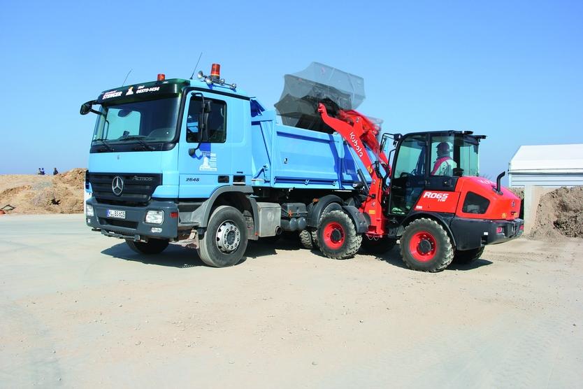 Wheeled loaders R065HW - KUBOTA