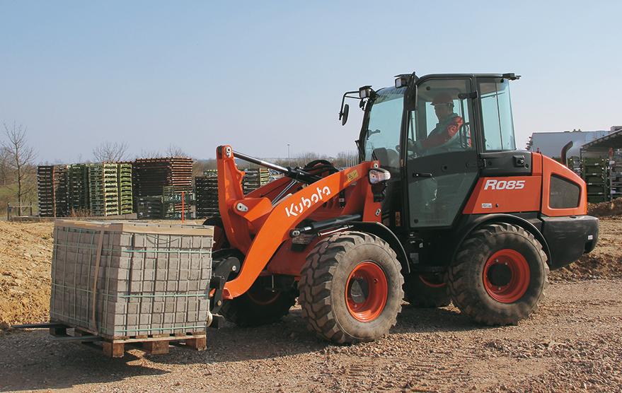 Wheeled loaders R085 - KUBOTA