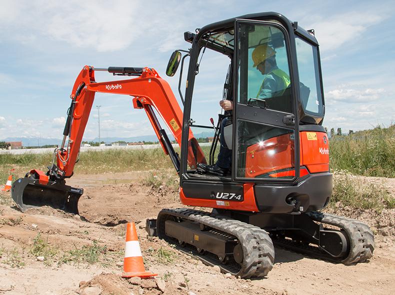 Mini excavator U27-4 (HI) - KUBOTA