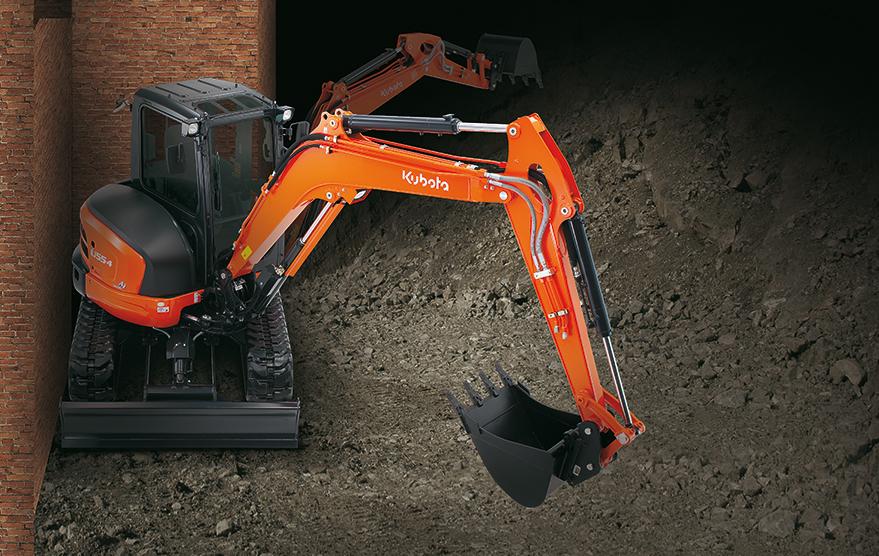 Mini excavator U55-4 - KUBOTA