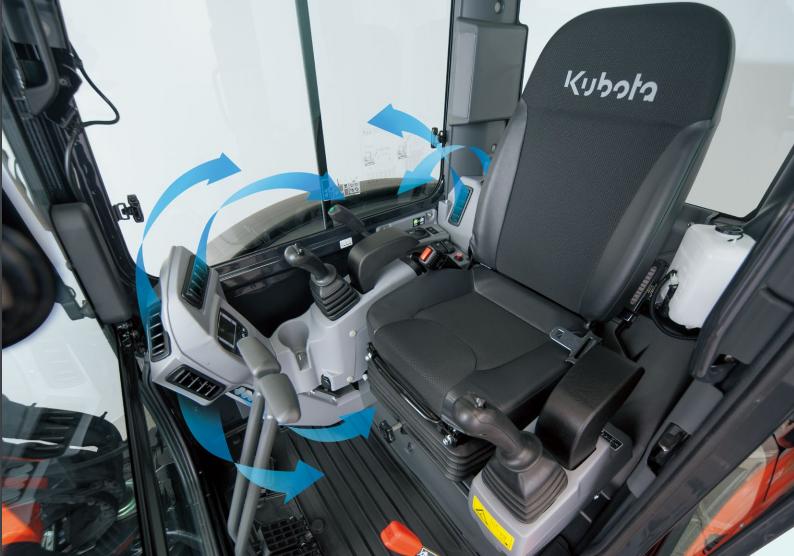Minibagger KX042-4 - KUBOTA