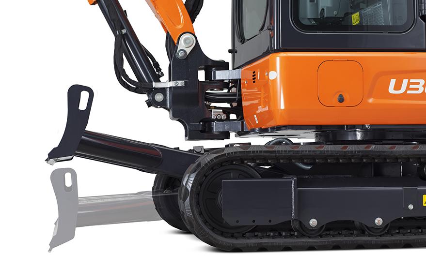 Mini excavator U36-4 - KUBOTA