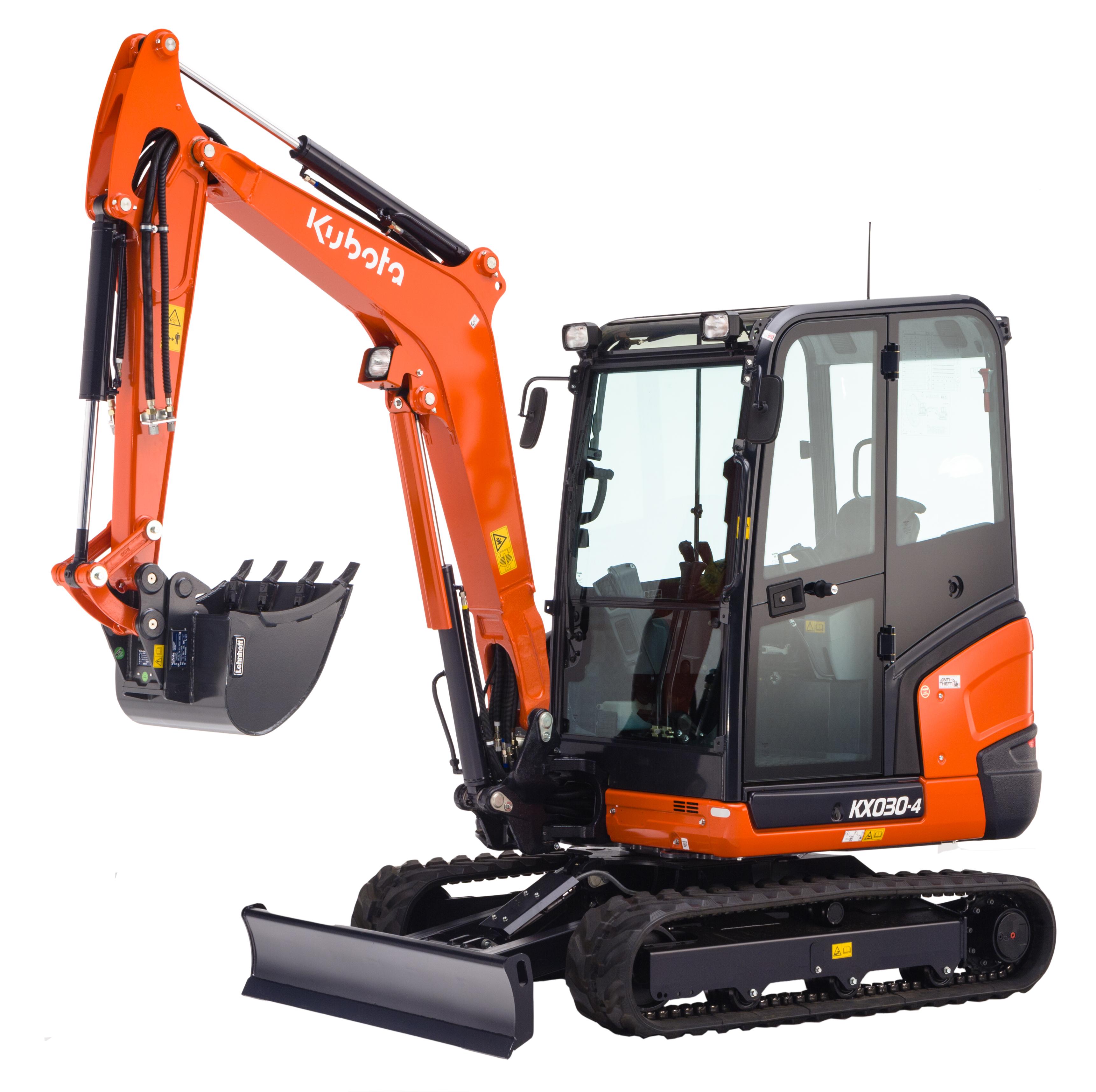 Mini excavator KX030-4 (HI) - KUBOTA