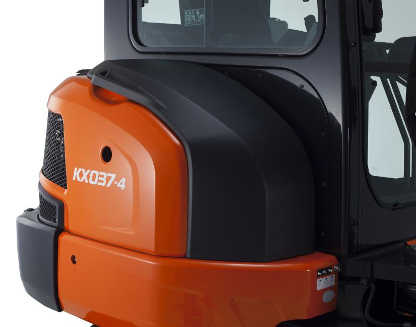 Mini excavator KX037 - KUBOTA
