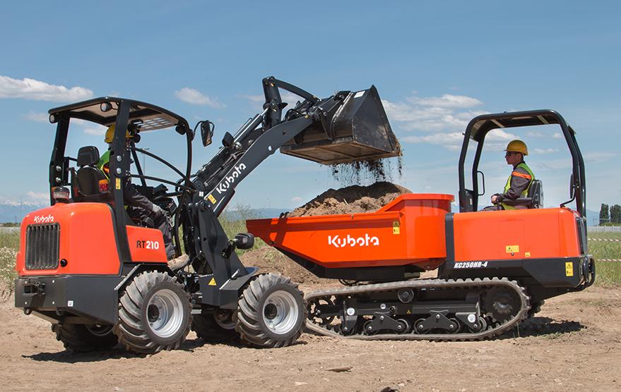Wheeled loaders RT210 - KUBOTA