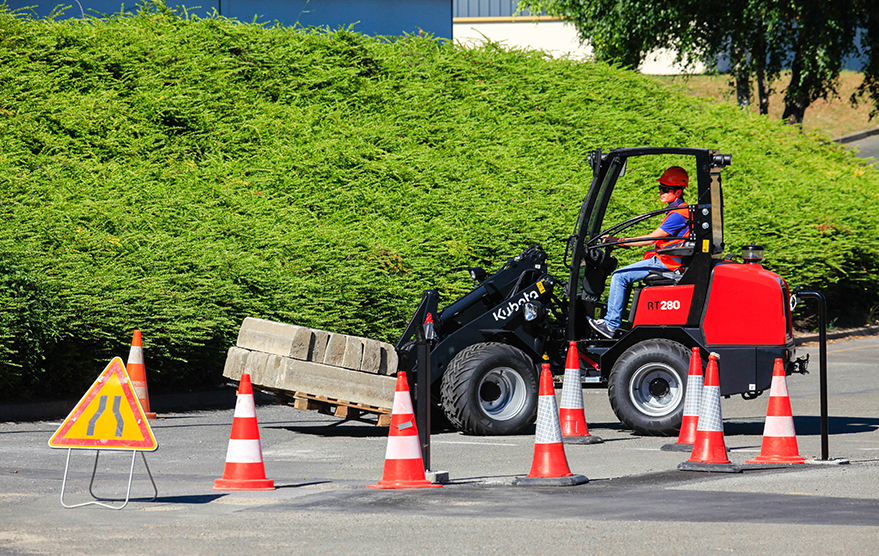 Wheeled loaders RT280 - KUBOTA