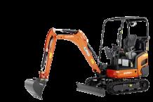 Mini excavator KX019-4 LPG - KUBOTA